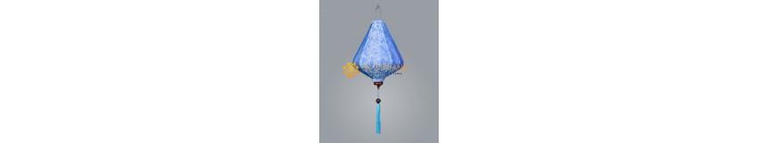 Hoi An Silk Lanterns With Bamboo Frame